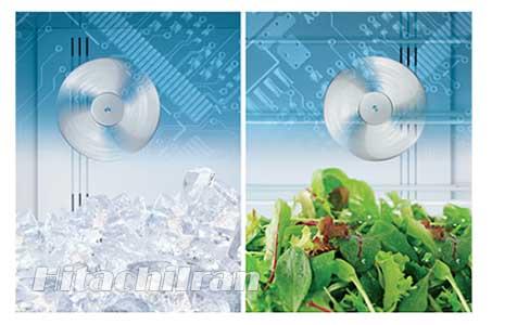 تاثیر فن سرمایشی دوگانه بر روی مواد غذایی