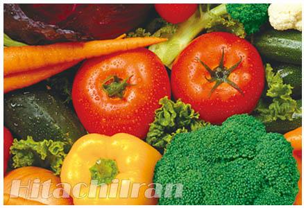 حالت سبزیجات قفسه