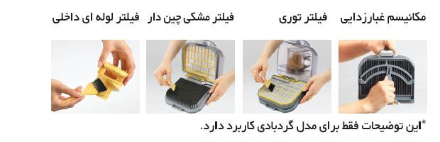 مخزن قابل شستشو و تمیز کردن آسان