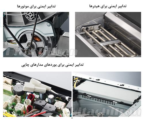 Hitachi Washing Machine Safety Measures