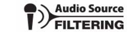 Audio Source Filtering