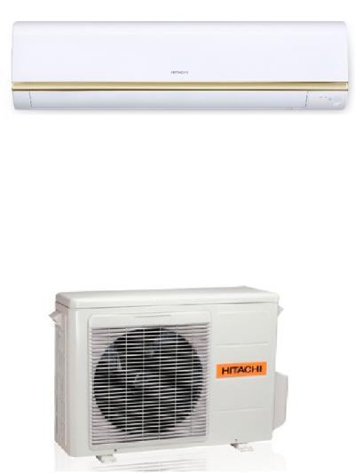 کولر گازی هیتاچی 30000 اصل ژاپن سرمایشی و گرمایشی مدل RAS-S30HPA